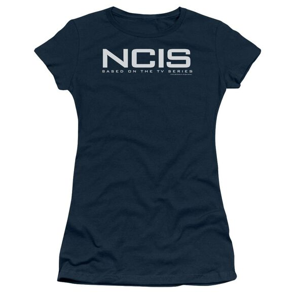 Ncis Logo Short Sleeve Junior Sheer T-Shirt
