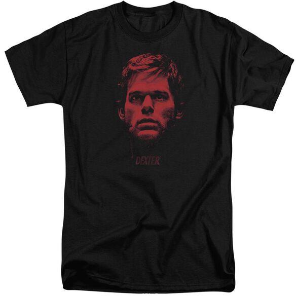Dexter Bloody Face Short Sleeve Adult Tall T-Shirt