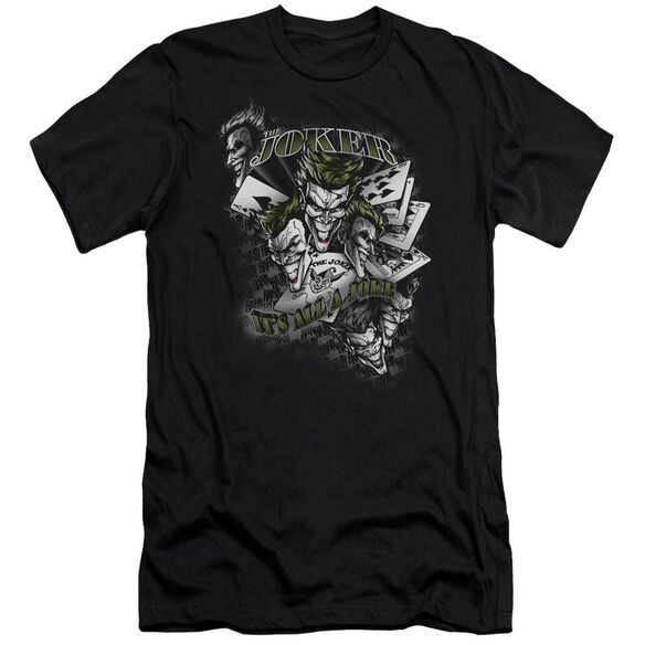 Batman Its All A Joke Short Sleeve Adult T-Shirt