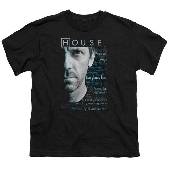 House Houseisms Short Sleeve Youth T-Shirt