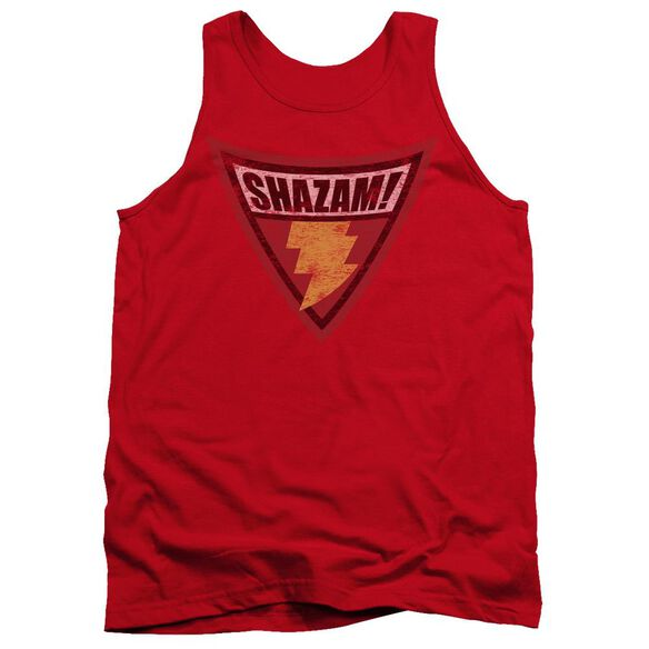 Batman Bb Shazam Shield Adult Tank