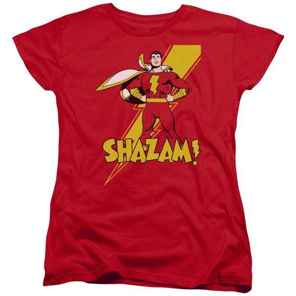 Dc Shazam! Short Sleeve Womens Tee T-Shirt