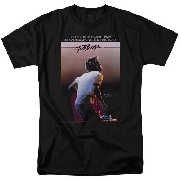 Footloose Poster Short Sleeve Adult T-Shirt