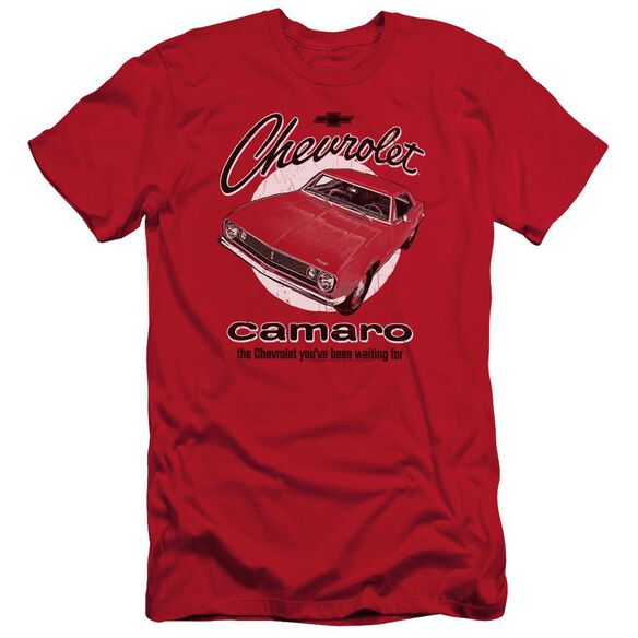 Chevrolet Retro Camaro Short Sleeve Adult T-Shirt