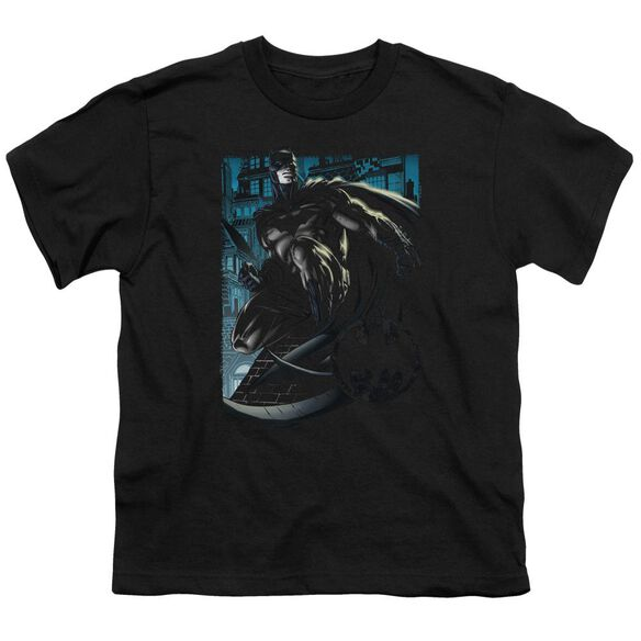 Batman Knight Falls In Gotham Short Sleeve Youth T-Shirt