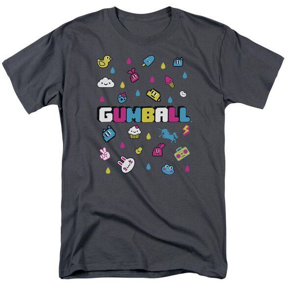 Amazing World Of Gumball Fun Drops Short Sleeve Adult T-Shirt