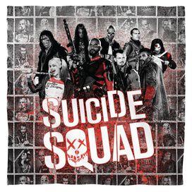 Suicide Squad Splatter Bandana