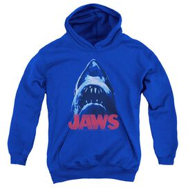 Jaws From Below Youth Pull Over Hoodie