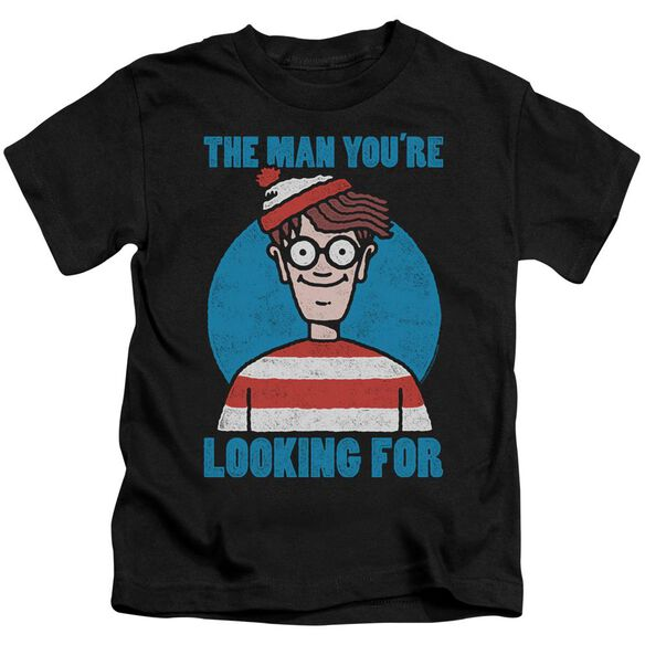 Wheres Waldo Looking For Me Short Sleeve Juvenile T-Shirt