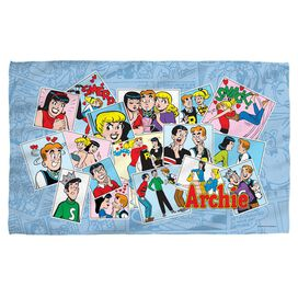 Archie Panels Face Hand Towel
