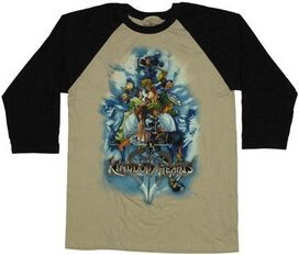 Kingdom Hearts Group Raglan T-Shirt