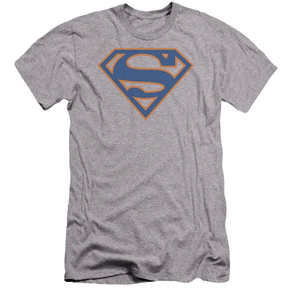 Superman Blue & Orange Shield Premuim Canvas Adult Slim Fit Athletic