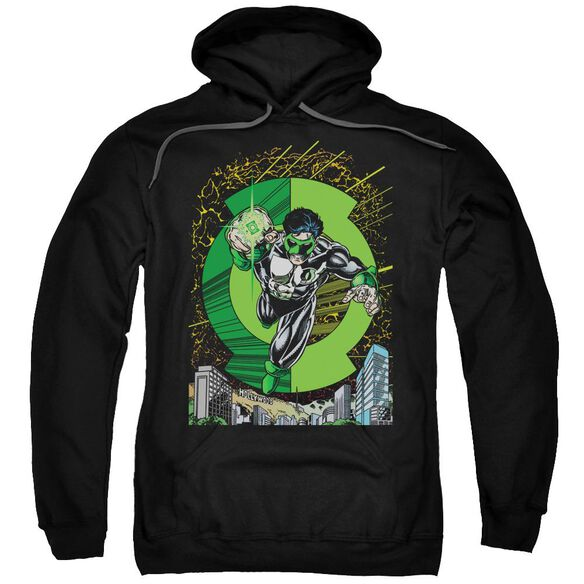Green Lantern Gl #51 Cover Adult Pull Over Hoodie
