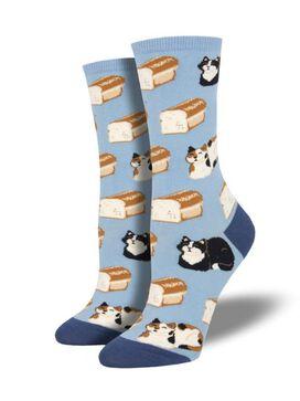 Cat Loaf Women's Socks [1 pair]