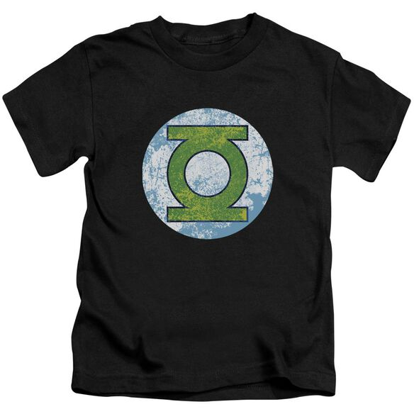 Dco Gl Neon Distress Logo Short Sleeve Juvenile Black Md T-Shirt