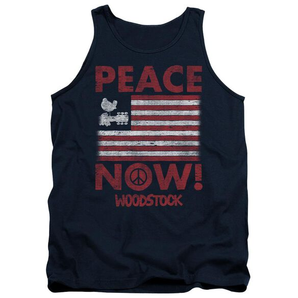 Woodstock Peace Now Adult Tank