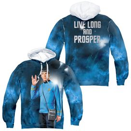 Star Trek Live Long (Front/back Print)-adult Poly
