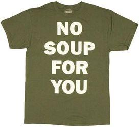 Seinfeld No Soup T-Shirt