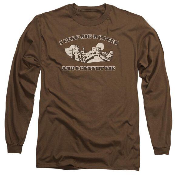 I Like Big Buttes Long Sleeve Adult T-Shirt