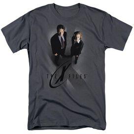 X Files X Marks The Spot Short Sleeve Adult T-Shirt