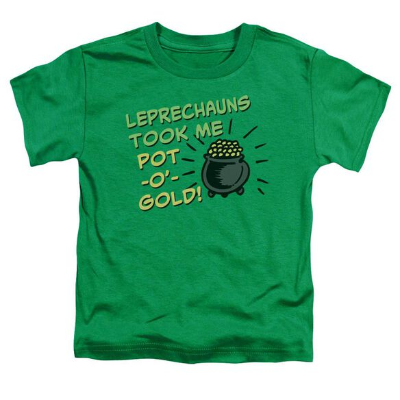 Merry Thieves Short Sleeve Toddler Tee Kelly Green T-Shirt