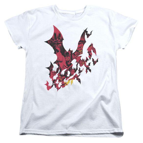Batman Broken City Short Sleeve Womens Tee T-Shirt