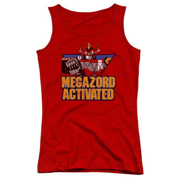 Power Rangers Megazord Activated Juniors Tank Top