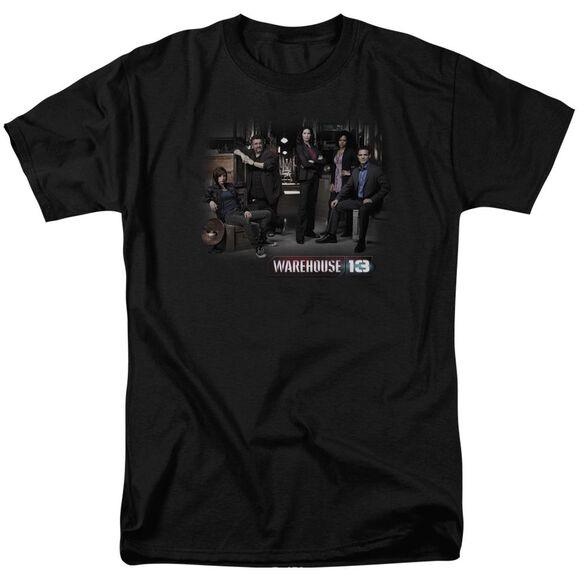 Warehouse 13 Warehouse Cast Short Sleeve Adult T-Shirt