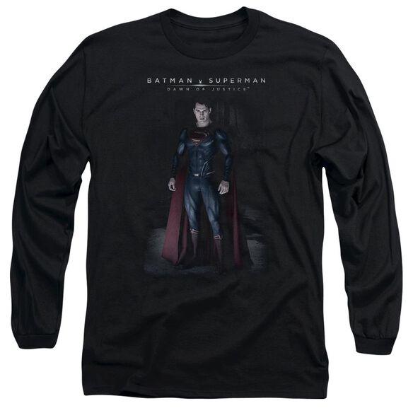 Batman V Superman Stand Tall Long Sleeve Adult T-Shirt