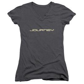 Journey Logo Junior V Neck T-Shirt