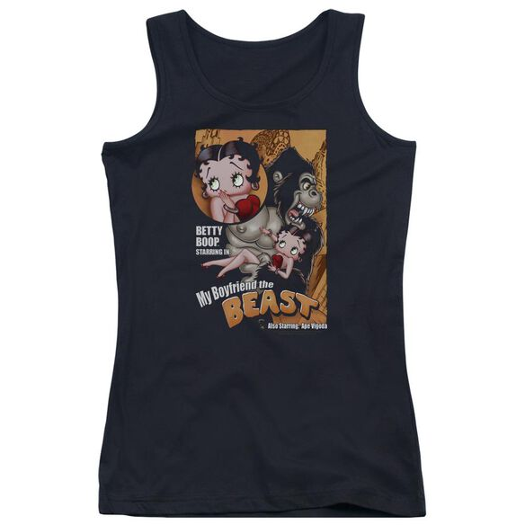 Betty Boop Boyfriend The Beast Juniors Tank Top