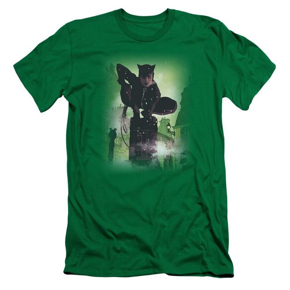 BATMAN CATWOMAN #63 COVER - S/S ADULT 30/1 - KELLY GREEN T-Shirt