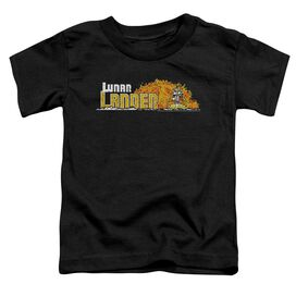 Atari Lunar Marquee Short Sleeve Toddler Tee Black T-Shirt