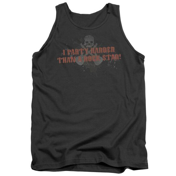 Party Like A Rock Star Adult Tank