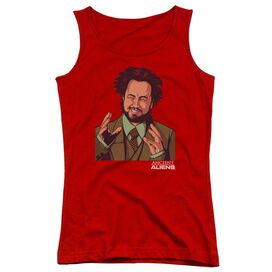 Ancient Aliens It Must Be Aliens Juniors Tank Top