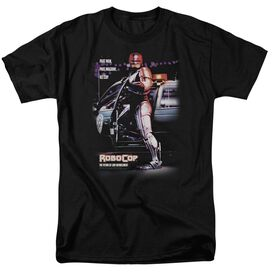 Robocop Poster Short Sleeve Adult T-Shirt