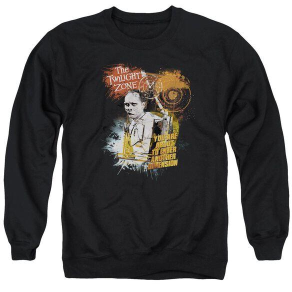 Twilight Zone Enter At Own Risk Adult Crewneck Sweatshirt