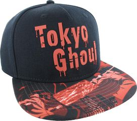 Tokyo Ghoul Rubber Drip Name Snapback Hat