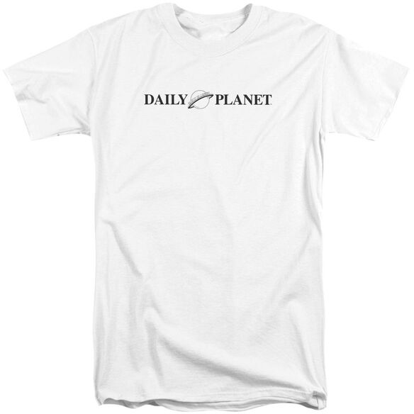 Superman Daily Planet Logo Short Sleeve Adult Tall T-Shirt