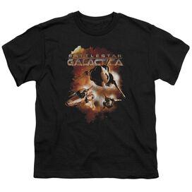 Battlestar Galactica (New) Vipers Stretch Short Sleeve Youth T-Shirt