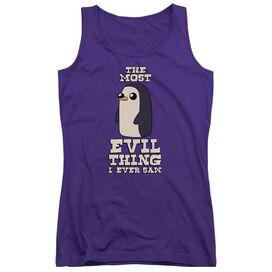 Adventure Time Evil Thing Juniors Tank Top