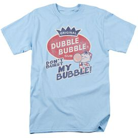 Dubble Bubble Burst Bubble Short Sleeve Adult Light T-Shirt