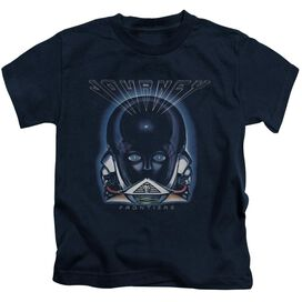 Journey Frontiers Cover Short Sleeve Juvenile Navy T-Shirt