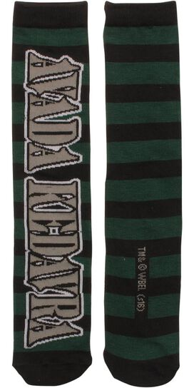 Harry Potter Avada Kedavra Crew Socks