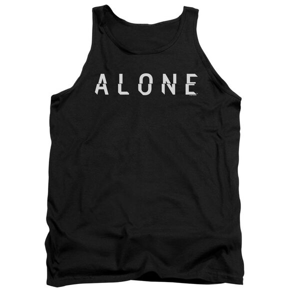 Alone Alone Logo Adult Tank