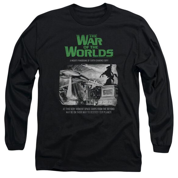 War Of The Worlds Attack People Poster Long Sleeve Adult T-Shirt