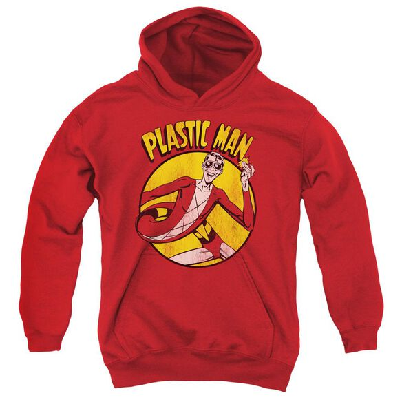 Dc Plastic Man Youth Pull Over Hoodie