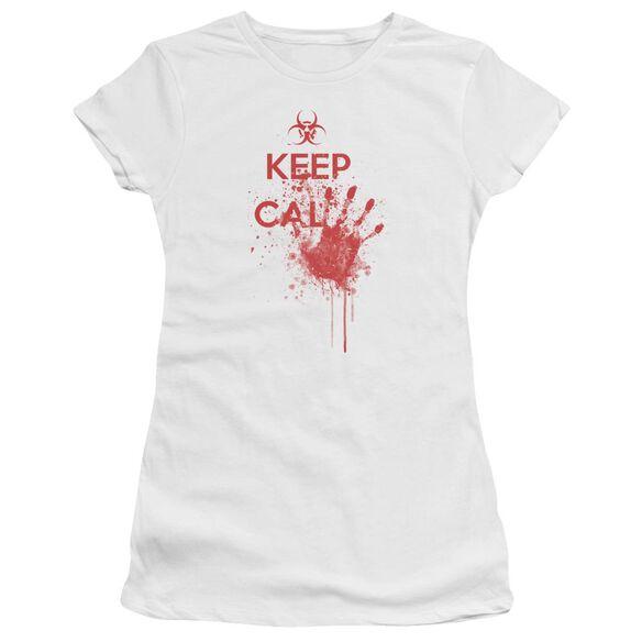 Keep Cal Short Sleeve Junior Sheer T-Shirt