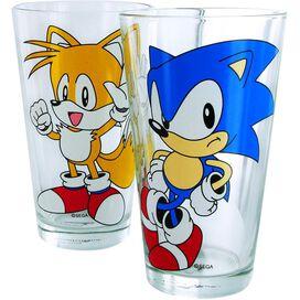 Sonic the Hedgehog Group Pint Glass Set