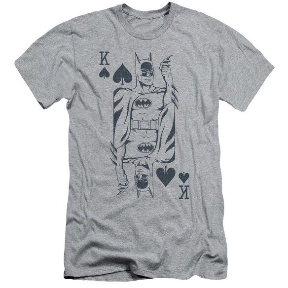 Dc Bat Card Short Sleeve Adult Athletic T-Shirt